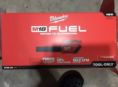 MILWAUKEE 2728-20 M18 FUEL™ Blower (Bare Tool Only) Brand New in box -