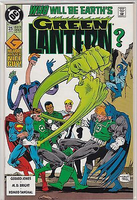 Dc Comics Green Lantern #25 Who Will Be Earth's Gl Mint Never Been Read