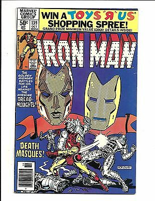IRON MAN # 139 (Cents Issue, OCT 1980), FN+