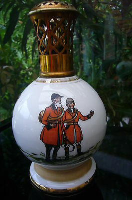 """ANTIQUE LAMPE BERGER  PARIS MADE IN FRANCE  """"couleuvre   LA CHASSE """""""