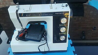 Toyota 9800 semi industrial sewing machine for sale
