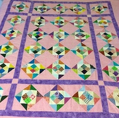 Quilt Top KIT, All-inclusive Fabric, Complete Instructions, PRE-CUT!