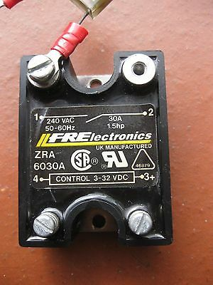Fr Electronics Solid State Relay - Zra 6030A