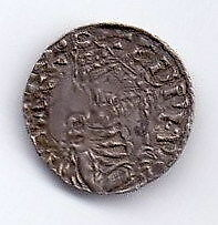 Edward the Confessor penny, Pointed Helmet type, Norwich mint, Leofwine. Rare.