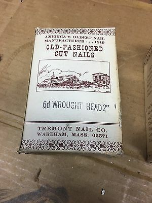 old fashioned cut nails 6d wrought head 2""