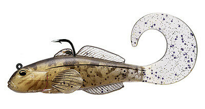 """Livetarget Goby Curly Tail 4"""" Pack of 3"""