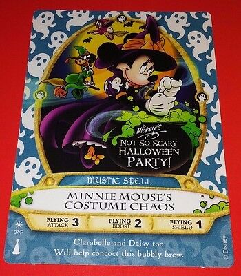 """Disney Sorcerers of the Magic Kingdom Game Card, """"Minnie Mouse"""" # 06/P"""