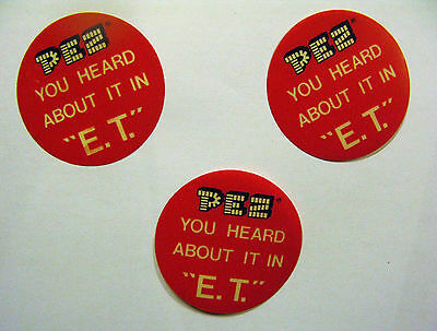 """Pez You Heard About It In """"e.t."""" Small Round Insert (One)"""