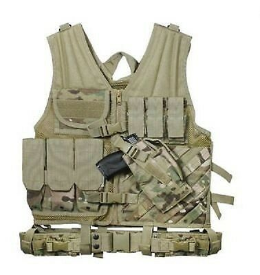 US MULTICAM TACTICAL Army OCP OEF CROSS DRAW VEST Weste