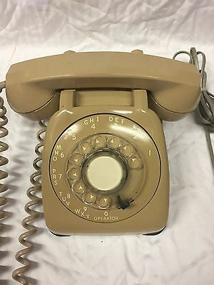 Vintage Monophone Automatic Electric Beige Phone N-802 Csa Usa