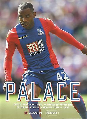 Crystal Palace v Blackpool 16/17 brand new football programme