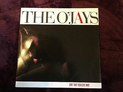 "The O'jays Don't Take Your Love Away 12"" Vinyl Single"