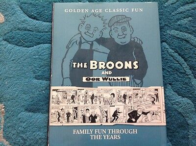 the broons and oor  wullie - family fun through the years 1936-1969
