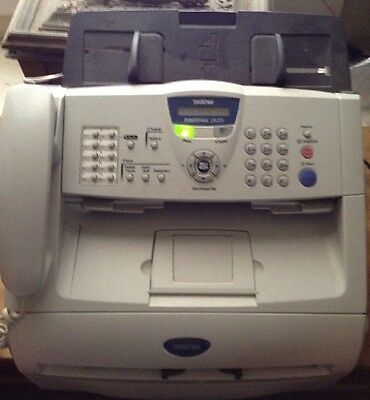 Brother Intellifax Small Home Office Laser Fax Copier MFC 2820 Cables