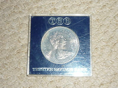 2 x Royal Commemorative Crown in TSB case - Charles & Diana Wedding '81
