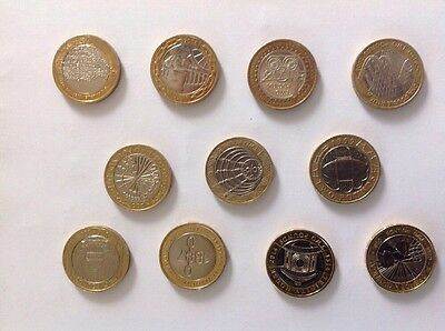 11 X £2 Two Pound Coin Collection multiple Rare Special Edition Coins Job Lot