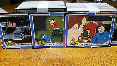 STAR TREK ANIMATED THE COMPLETE Trading Cards 200 Card Base Set Rittenhouse 2003