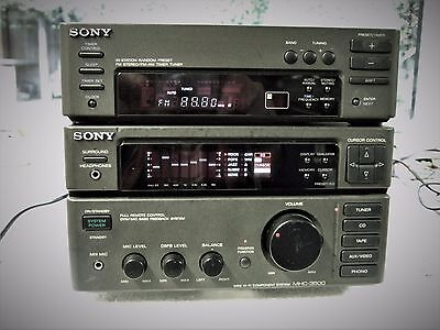Sony Amplifier With Equalizer And Separate Tuner 100% Good.