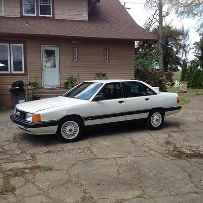 1990 Audi 200 Quattro  1990 Audi 200 Turbo Quattro 5 speed true survivor NO RESERVE