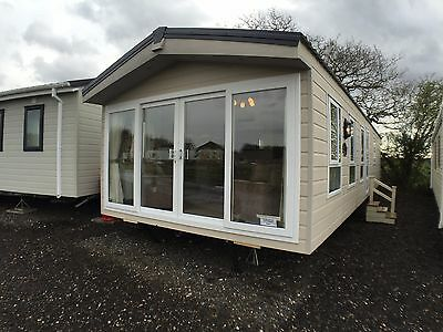 New 2017 Delta Superior Top Of The Range Mobile Home Off Site Static Caravan