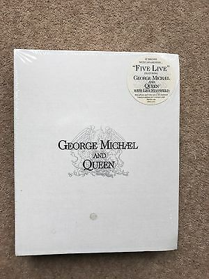 George Michael And Queen With Lisa Stansfield – Five Live - Promo Box Set - M/S
