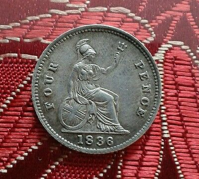 1836 William IV Groat (FourPence)