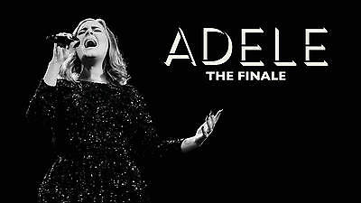 2 x Adele tickets Wembley Stadium Wednesday 28th June  - Pitch Standing