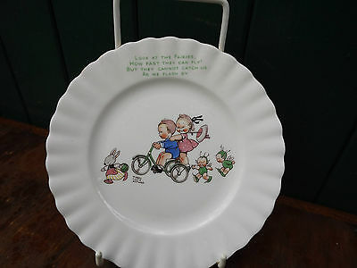 Vintage Royal Albert Mabel Lucie Attwell Fairy Band Child's Plate