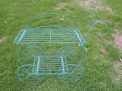 Metal Plant Stand,flower Pot Stand Cart Style Planter Stand,garden ,yard Decor