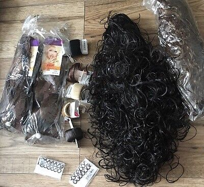 Hair Piece joblot Carboot Wholesale New Extensions Accessories  Fashion