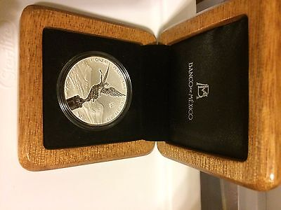2016 1 oz. 999 Mexico Silver Libertad Reverse Proof in Box