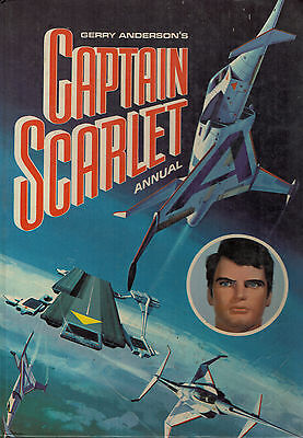 Captain Scarlet Annual  1967 H/B Gerry Anderson  2855F