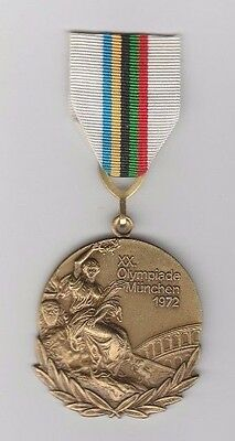 Orig.remembrance medal   XX.Olympic Games MÜNCHEN (Germany) 1972  !  EXTREM RARE
