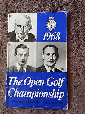 1968 97th Open Golf Championship Official Programme 'Signed By Player'