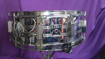 Vintage TAMA ROYAL STAR 14x5 10-lug CHROME snare drum MADE IN JAPAN gc/OK