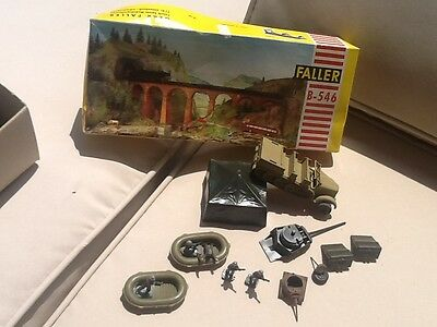 Vintage lot of mixed WW2 German Soldiers/Boats/tent/jeep