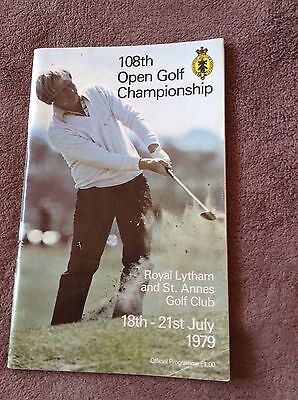 1979 108th Open Championship Golf Official Pogramme