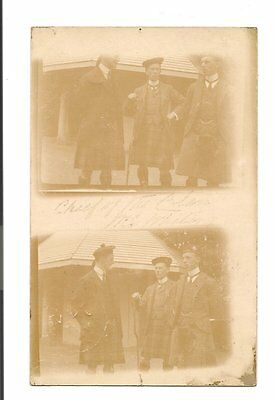 RP Postcard-Scotland-Chief of The Clan ....?  posted Aboyne Aberdeenshire