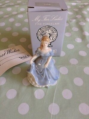 WADE Brand  NEW BOXED LISA MY FAIR LADIES MINIATURE COLLECTABLE FIGURE