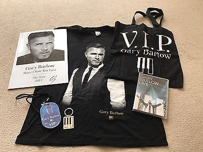Gary Barlow VIP Package - Since I Saw You Last Tour