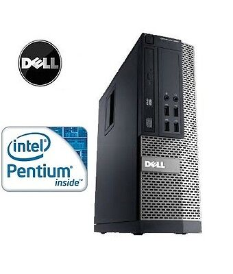 Fast Dell Optiplex 790 SFF Pentium Dual Core Windows PC Desktop