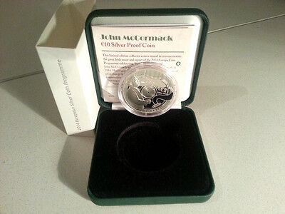 """Ireland 2014 €10 John """"The Count"""" McCormack Silver Proof Coin"""