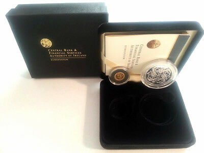 Ireland 2007 €10 & €20 Celtic Culture Silver & Gold Double Proof Coin Set