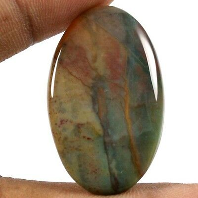 31.50 cts 100% Natural Excellent Quality Bloodstone Oval Loose Cabochon Gemstone