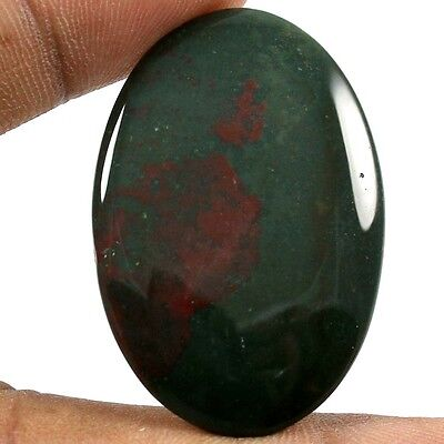 40.60 cts 100% Natural Excellent Quality Bloodstone Oval Loose Cabochon Gemstone