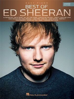 Best Of Ed Sheeran Learn to Play Pop Chart Hits EASY Beginner PIANO MUSIC BOOK