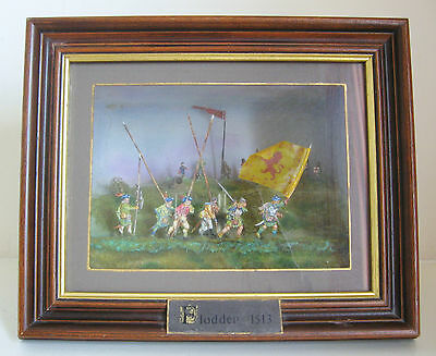 Battle Of Flodden 1513 Framed 3D Diorama Wall Hanging Display Art Picture