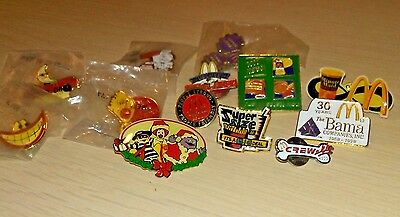 Lot 13 McDonald's Employee Pins