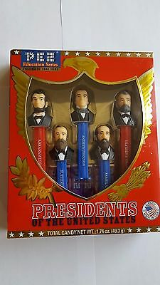 RARE PEZ Education Series IV: 1861-1881 PRESIDENTS OF THE UNITED STATES Vol 4