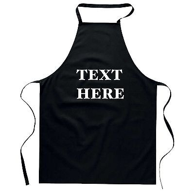 Personalised Custom printed apron Good quality Baking chef cooking Arts Craft